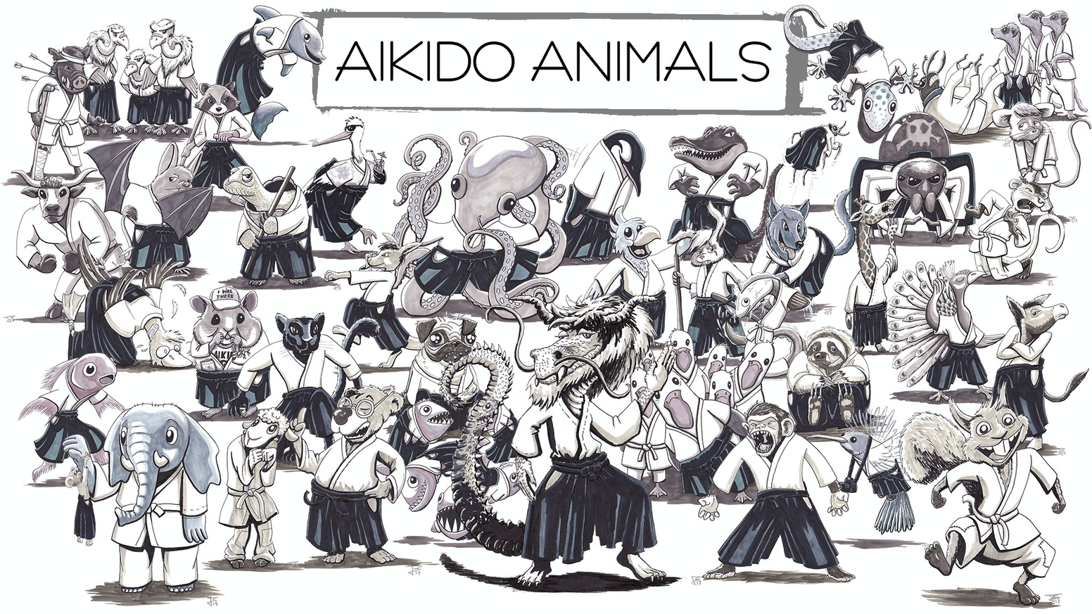 Aikido Animals