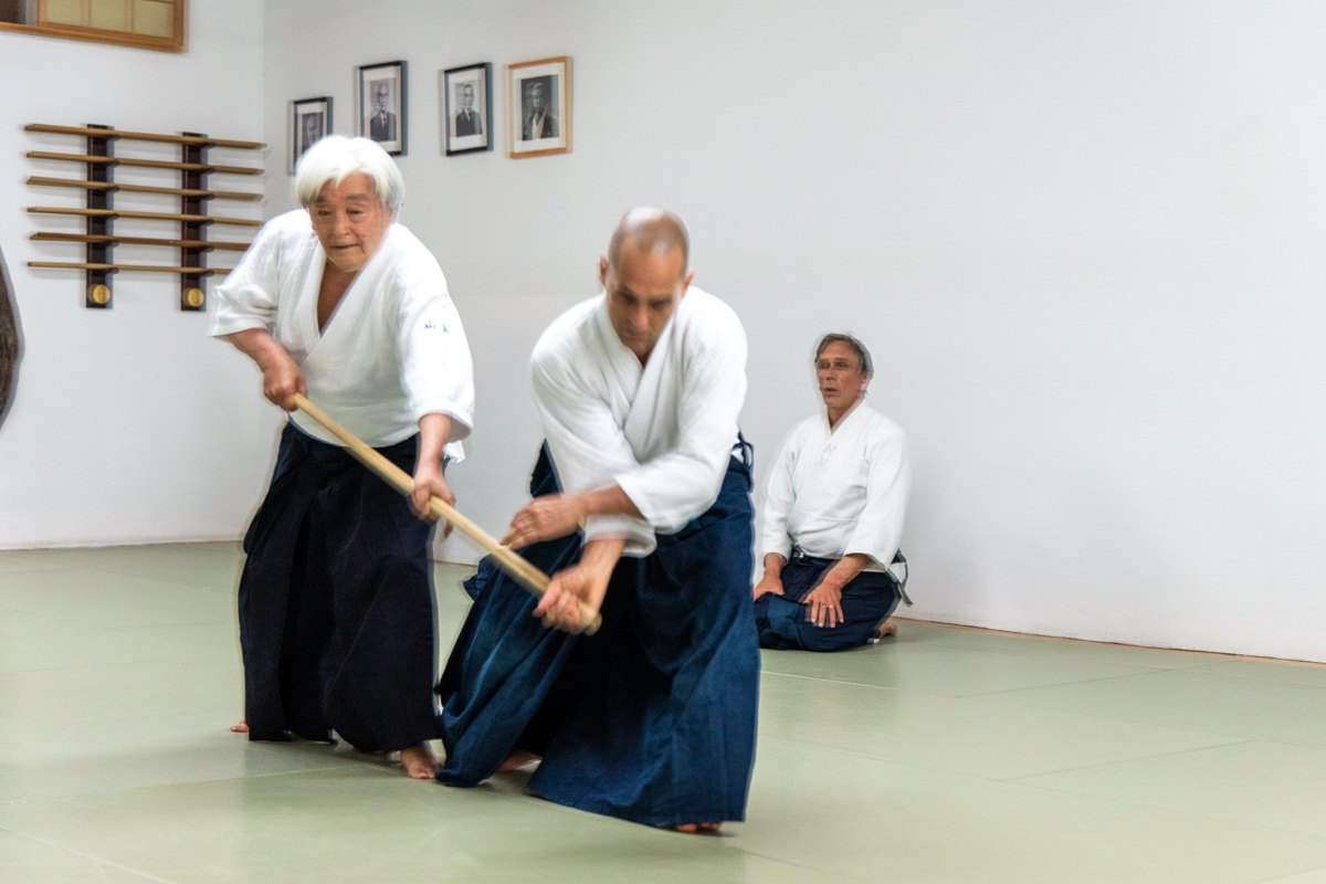 Yamada Sensei's Tuesday Class